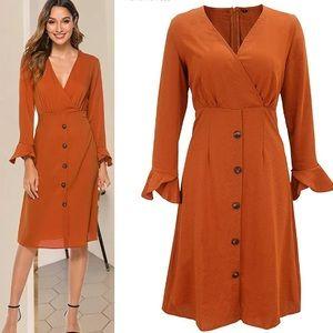PERFECT - Autumn Fall Long Sleeve Dress